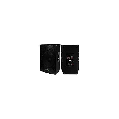 Ibiza Sound S0030027B - Altavoz activo amplificado 800 W