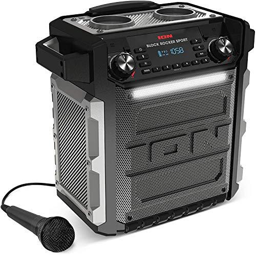 ION Audio Block Rocker Sport - Altavoz Impermeable Ultra-Portátil