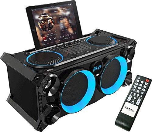 Ibiza SPLBOX200-BK - Sistema de audio móvil y autónomo, negro