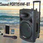 Altavoz Portatil Ibiza Sound PORT15VHF-BT
