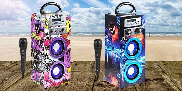 Karaoke con Micrófonos